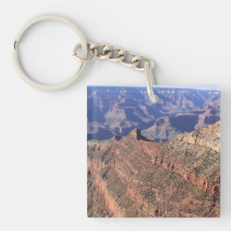 Grand Canyon Square Double Sided Key Chain