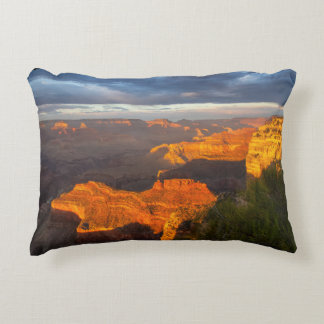 Grand Canyon Sunset Cotton Accent Pillow