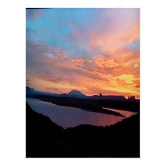 Grand-Canyon-sunset Postcard