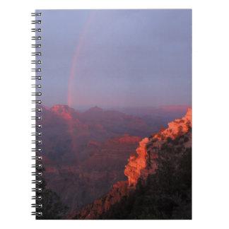 Grand Canyon Sunset Rainbow Notebook