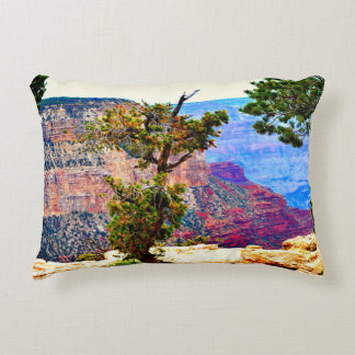 Grand Canyon Tree Brushed Poly Accent Pillow