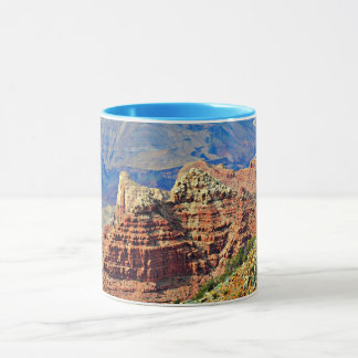 Grand Canyon Two Tone Coffee Mug