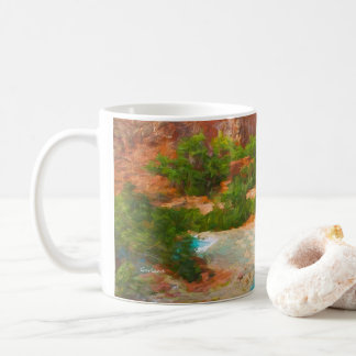 Grand Canyon Waterfalls. Coffee Mug