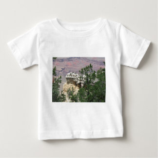 Grand Canyon with Rock and Trees in Front Baby T-Shirt