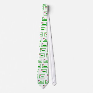 Grand Cape Mount County Flag Tie