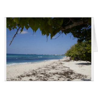 Grand Cayman Beach Card