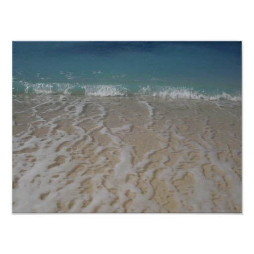 Grand Cayman Beach Picture poster