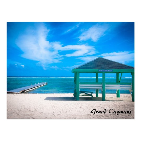 Grand Cayman East Side Postcard
