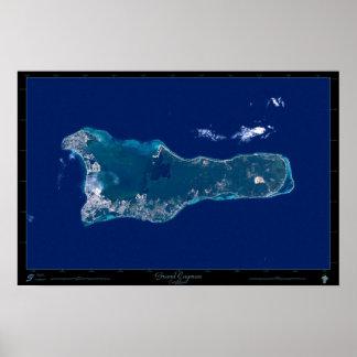 Grand Cayman satellite poster