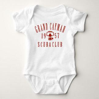 Grand Cayman Scuba Club (vintage) Baby Bodysuit