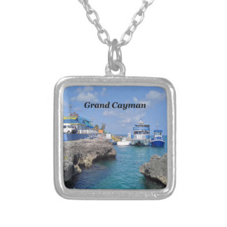 Grand Cayman Silver Plated Necklace