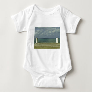 Grand Cayman Water Front Baby Bodysuit