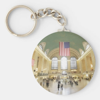 Grand Central Station Keychain