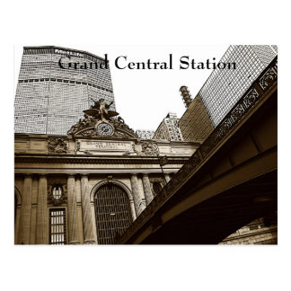 Grand Central Station, NYC Postcard