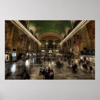 Grand Central Station Poster