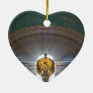 Grand Central Terminal Clock Ceramic Ornament
