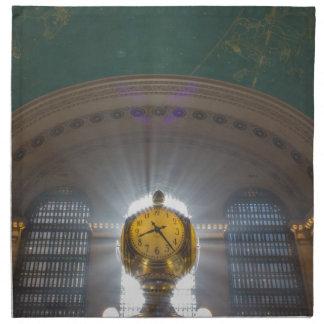 Grand Central Terminal Clock Napkin