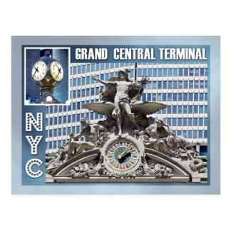 Grand Central Terminal, NYC Postcard