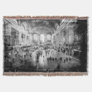 Grand Central Terminal Throw Blanket