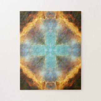 Grand Cross Mandala Puzzle
