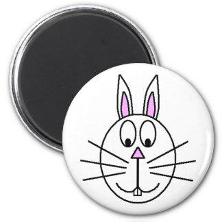 Grand dessin blanc de bande dessinée de lapin aimant