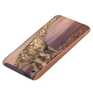 Grand dinosaure d'argentinosaurus marchant coque iPod touch Case-Mate