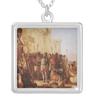Grand Duke Oleg Nailing Silver Plated Necklace
