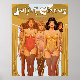 Grand Entrance - Juliet Circus Divas Poster