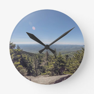Grand father mountain wall clock