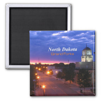 Grand Forks North Dakota Magnet Travel Souvenir