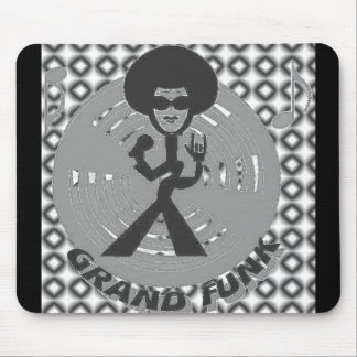 GRAND FUNK CHROME MOUSEPAD
