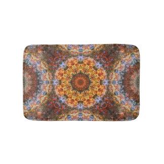 Grand Galactic Alignment Mandala Bathroom Mat