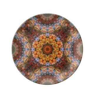 Grand Galactic Alignment Mandala Porcelain Plate