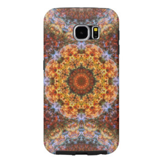 Grand Galactic Alignment Mandala Samsung Galaxy S6 Cases