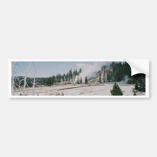 Grand Geyser Bumper Sticker