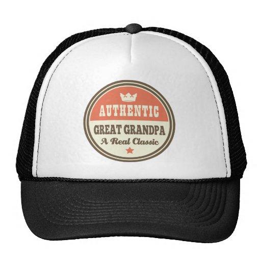 Grand grand-papa authentique un vrai classique casquettes
