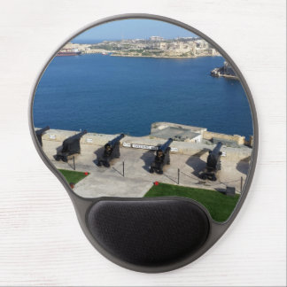 Grand Harbor in Malta Gel Mouse Pad