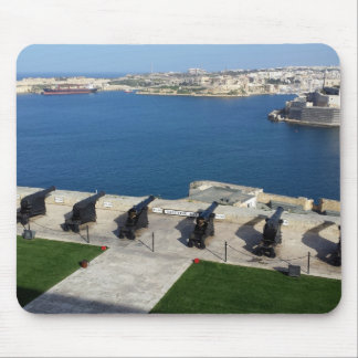 Grand Harbor in Malta Mouse Pad
