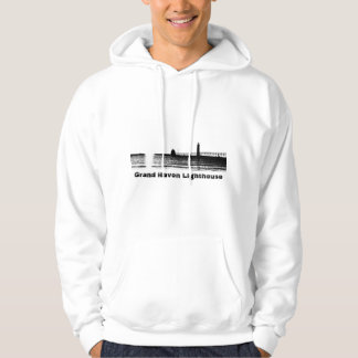 Grand Haven Lighthouse Graphic Hoodie