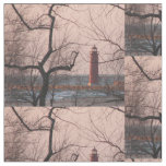 Grand Haven Lighthouse - Michigan Fabric