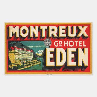 Grand Hotel Eden (Montreux France) Sticker