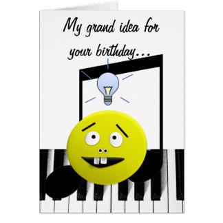 Grand Idea birthday card