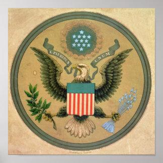 Grand joint des Etats-Unis, c.1850 Poster
