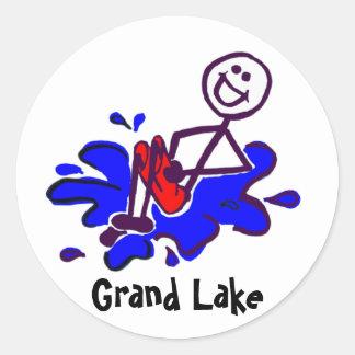 Grand Lake Cannonball Stickers