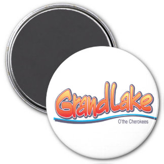 Grand Lake Ok 5 Magnet