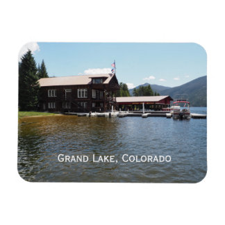 Grand Lake Yacht Club in Grand Lake, Colorado Magnet