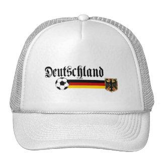 Grand logo de fussball du Deutschland Casquettes