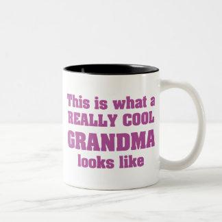 Grand-maman fraîche mugs à café