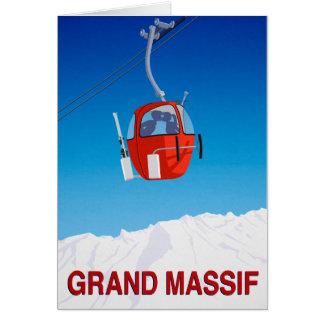 Grand Massif Card
