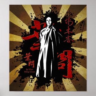 Grand Master Ip Man - Wing Chun Kung Fu Poster